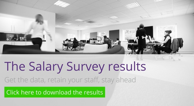 Salary survey results - download now