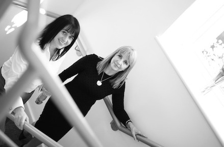 Karen Dykes and Anne Corder at Anne Corder Recruitment