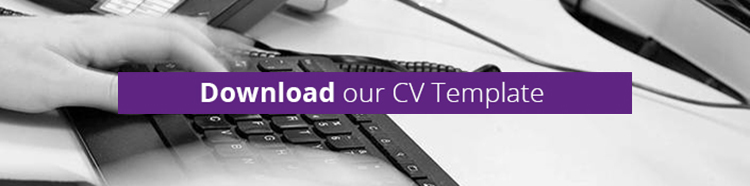 Download our CV template